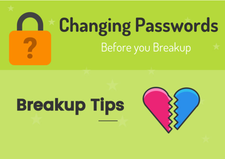 Changing Passwords Before you Breakup