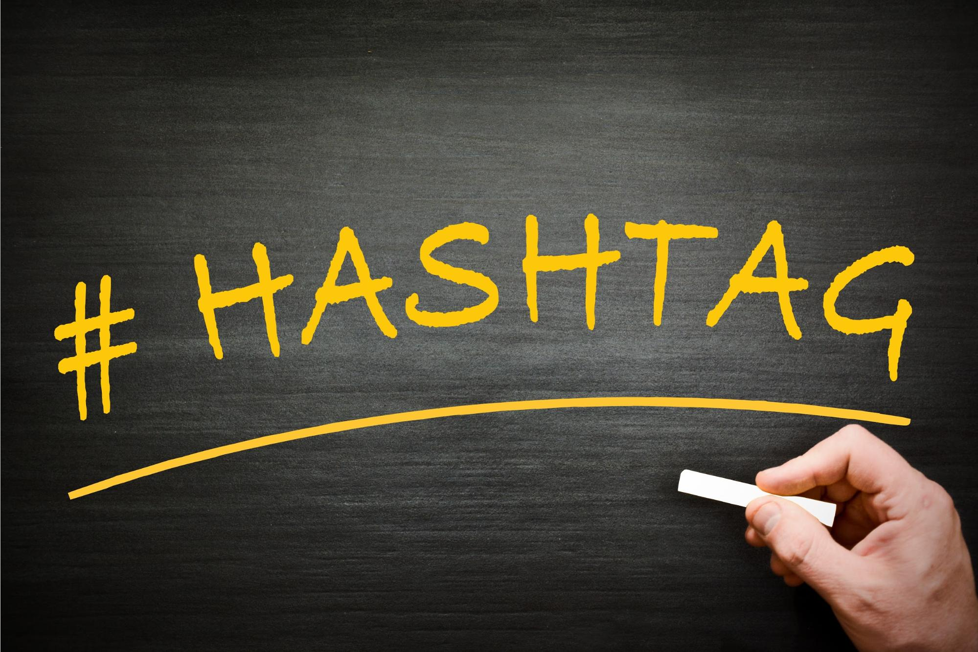 5. Use Twitter hashtags.