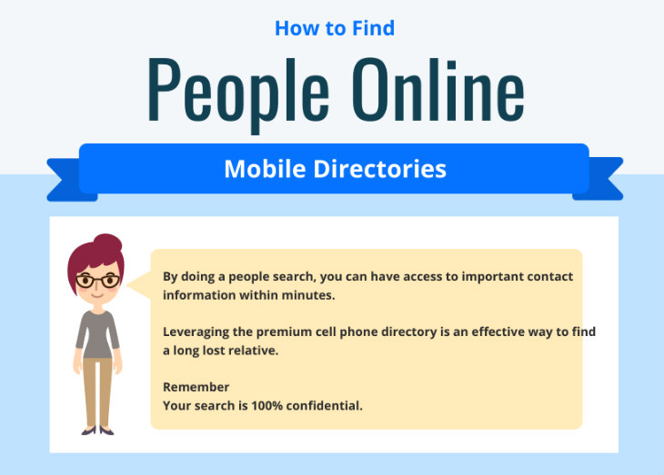 cell phone directory search
