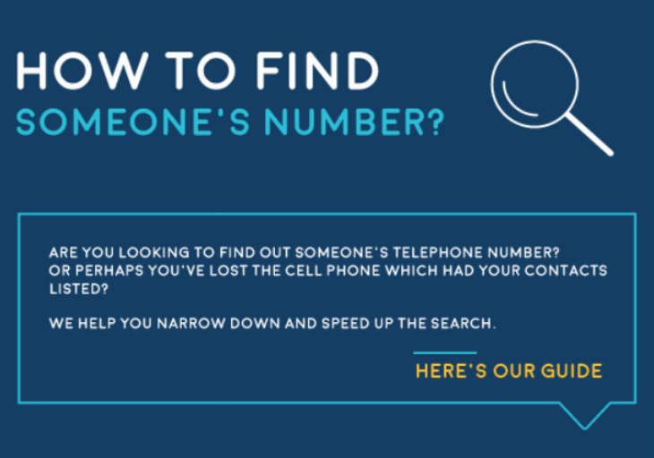 Find Someone's Cell Phone Number