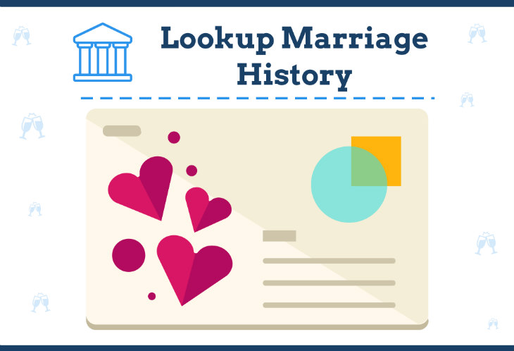 lookup marriage history