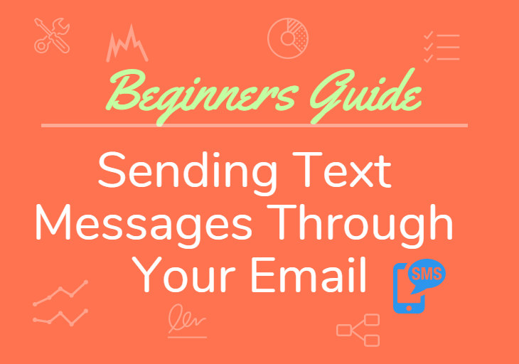 sending text message through email