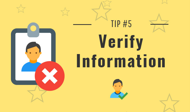 tip 5 - verify people search